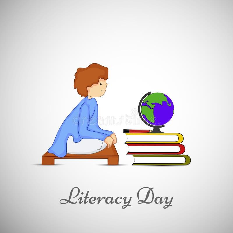 Απεικόνιση του υποβάθρου ημέρας βασικής εκπαίδευσης απεικόνιση αποθεμάτων