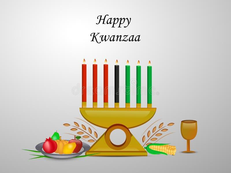 Απεικόνιση του υποβάθρου Kwanzaa απεικόνιση αποθεμάτων
