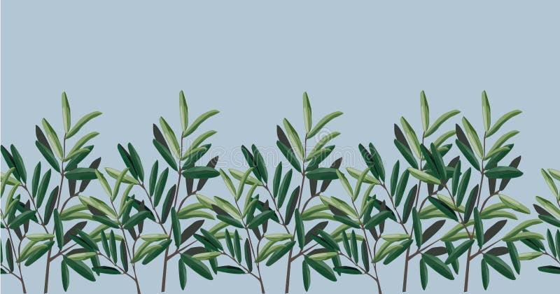 Απεικόνιση των φύλλων απεικόνιση - ελιές απεικόνιση αποθεμάτων