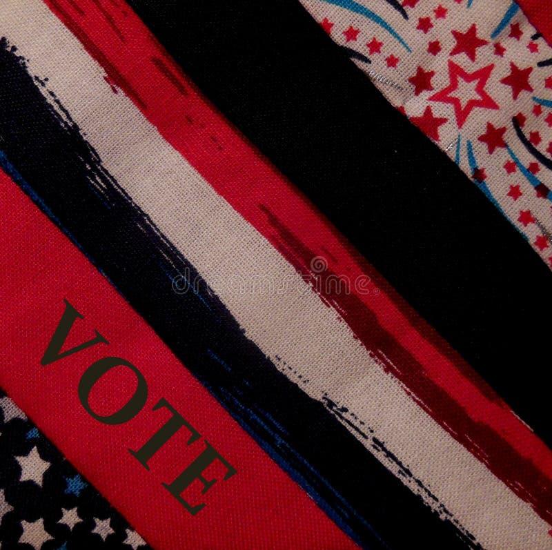 Απεικόνιση ψηφοφορίας στις ΗΠΑ στοκ εικόνα