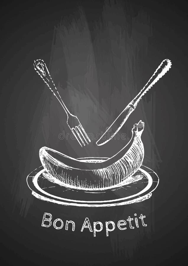 Απεικόνιση Bon Appetit ελεύθερη απεικόνιση δικαιώματος
