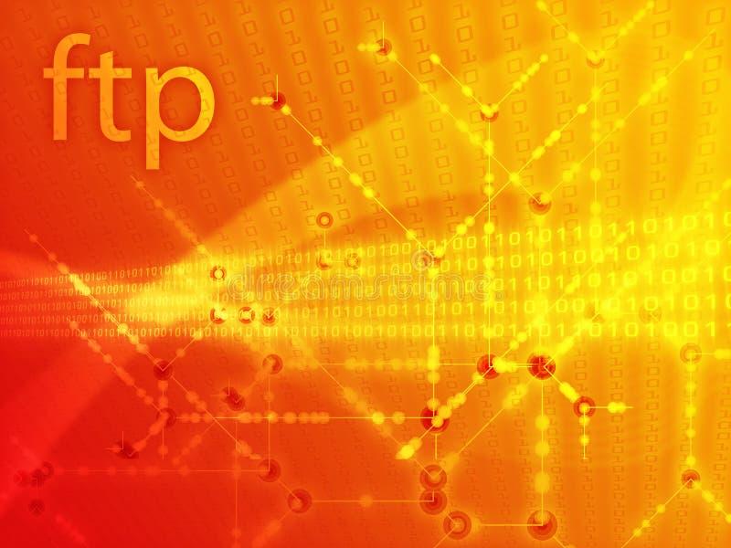 απεικόνιση FTP στοιχείων ελεύθερη απεικόνιση δικαιώματος