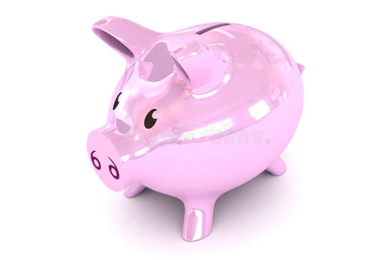 Απεικόνιση Piggybank στοκ φωτογραφίες