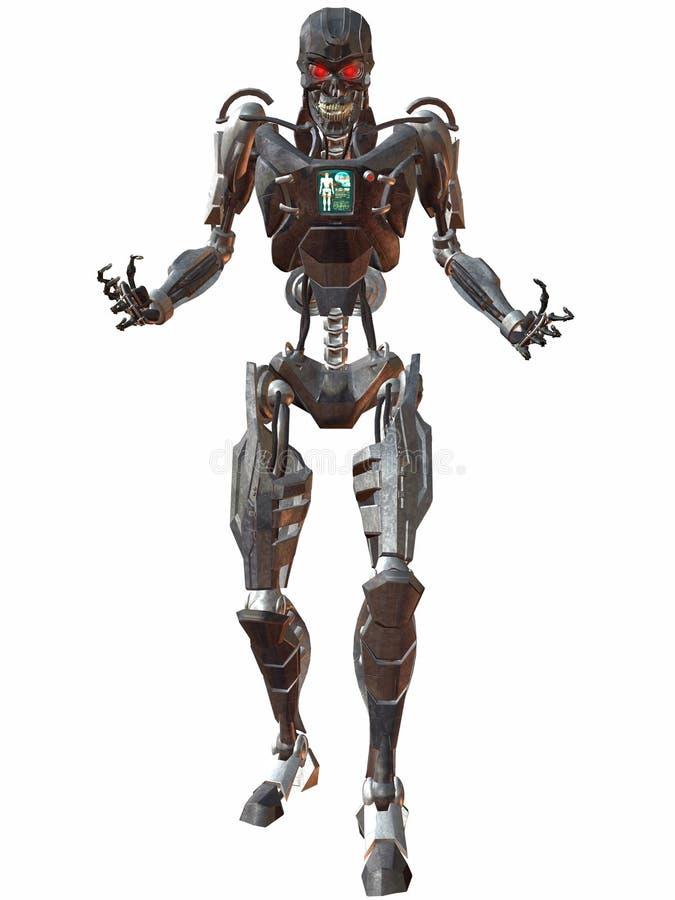 απειλή 3000 cyborg ελεύθερη απεικόνιση δικαιώματος