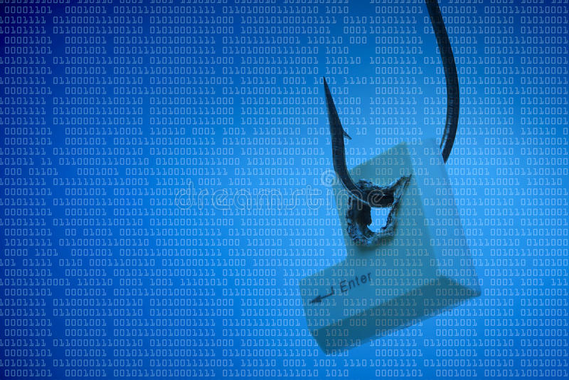 Απειλή υπολογιστών στοκ φωτογραφία με δικαίωμα ελεύθερης χρήσης