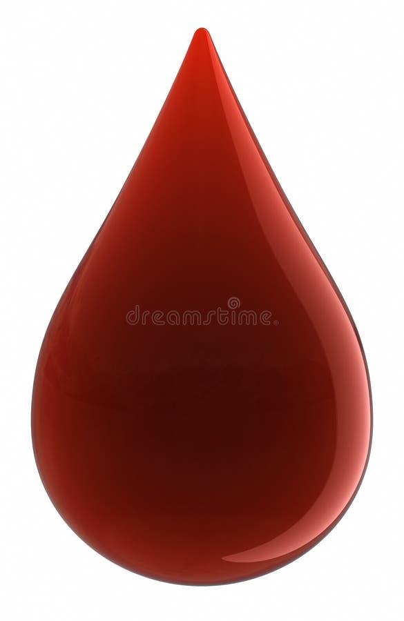 απελευθέρωση αίματος διανυσματική απεικόνιση