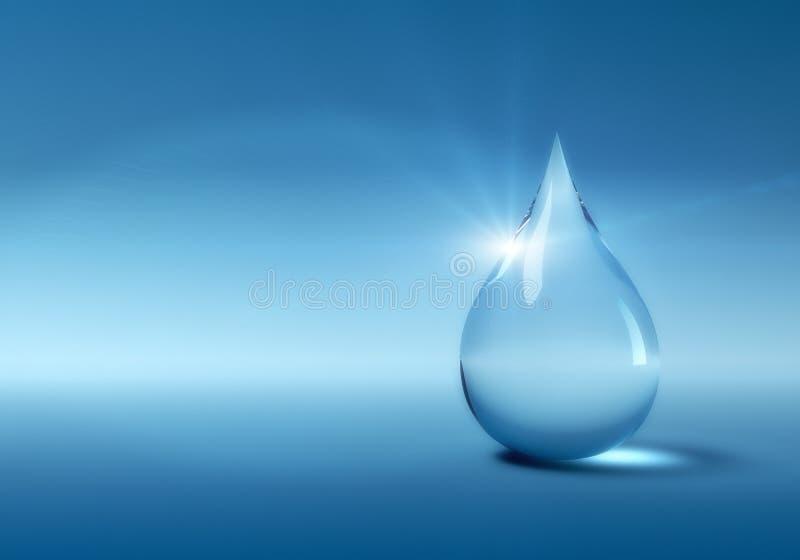 Απελευθέρωση νερού απεικόνιση αποθεμάτων
