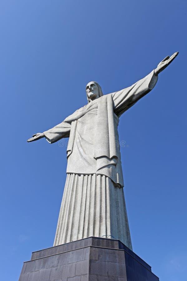 απελευθερωτής Ρίο της Βραζιλίας Χριστός de janeiro στοκ φωτογραφίες