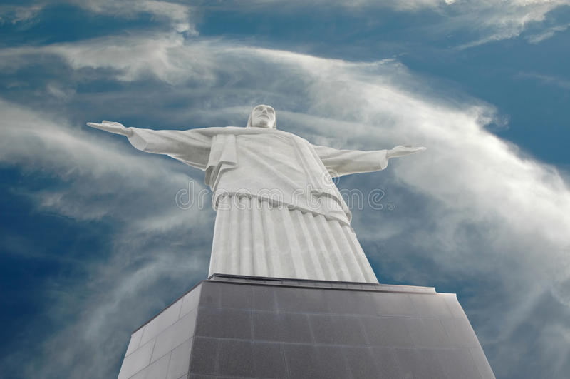 απελευθερωτής Ρίο της Βραζιλίας Χριστός de janeiro στοκ φωτογραφία με δικαίωμα ελεύθερης χρήσης
