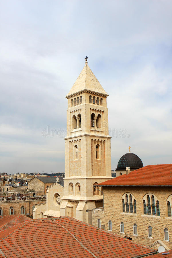 απελευθερωτής της Ιερουσαλήμ εκκλησιών στοκ εικόνα