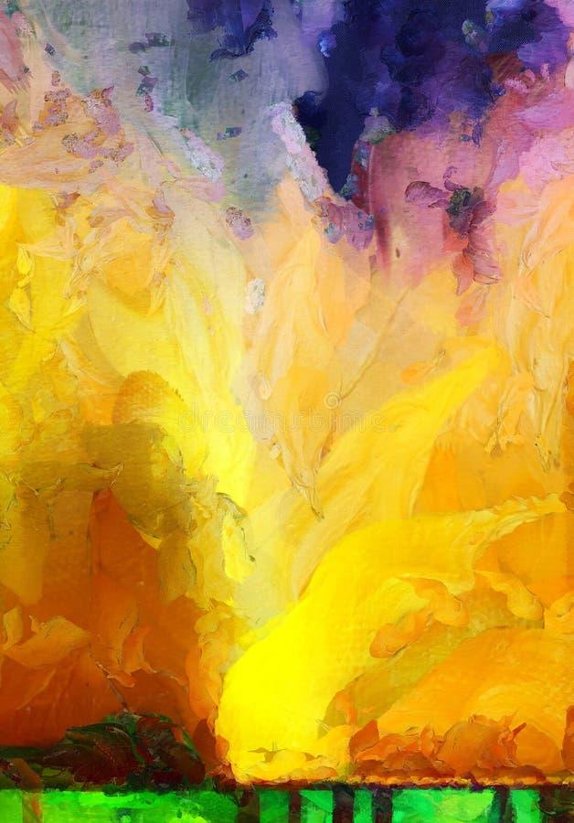 Απελευθερώσεις χρωμάτων ελεύθερη απεικόνιση δικαιώματος