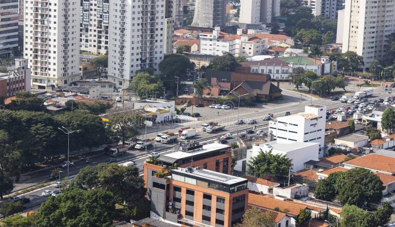 Απεργία της Βραζιλίας των οδηγών φορτηγού επάνω - 23/05/2018 στοκ φωτογραφία με δικαίωμα ελεύθερης χρήσης