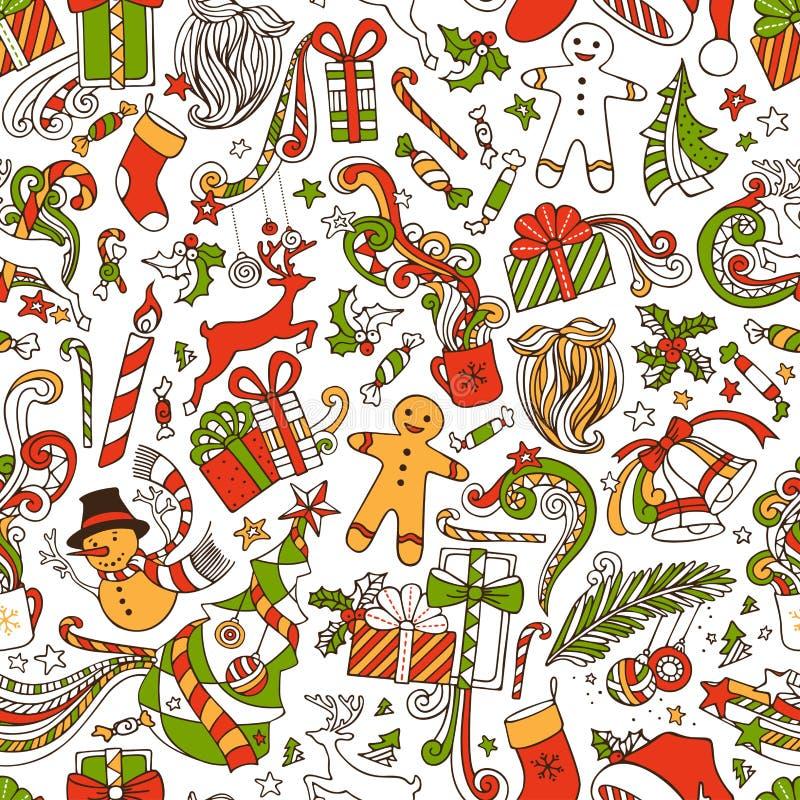 Download Απεριόριστη αστεία ταπετσαρία Χριστουγέννων Διανυσματική απεικόνιση - εικονογραφία από καραμέλα, και: 62720491