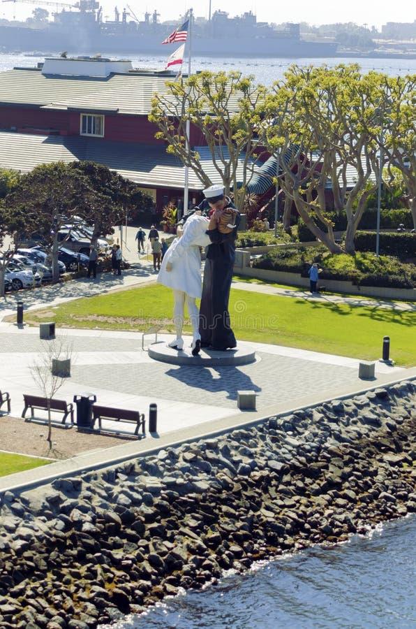 Απεριόριστη παράδοση, Σαν Ντιέγκο στοκ εικόνες