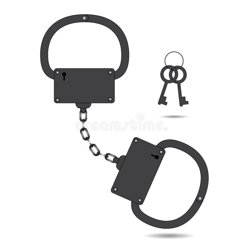 Απλή διανυσματική απεικόνιση χειροπεδών ελεύθερη απεικόνιση δικαιώματος