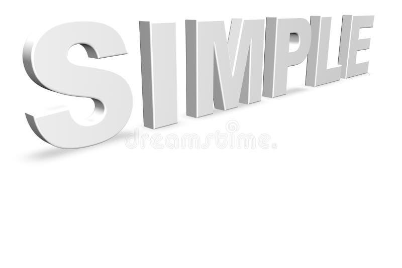απλός διανυσματική απεικόνιση