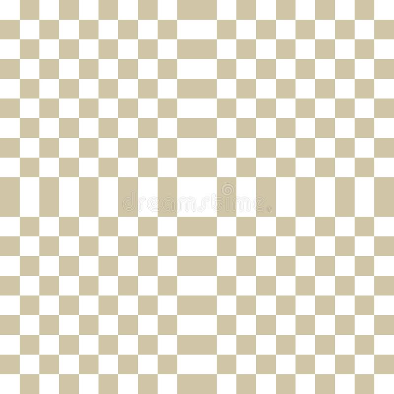 Απλό διανυσματικό χρυσό ελεγμένο γεωμετρικό άνευ ραφής σχέδιο με τα τετράγωνα, κεραμίδια ελεύθερη απεικόνιση δικαιώματος