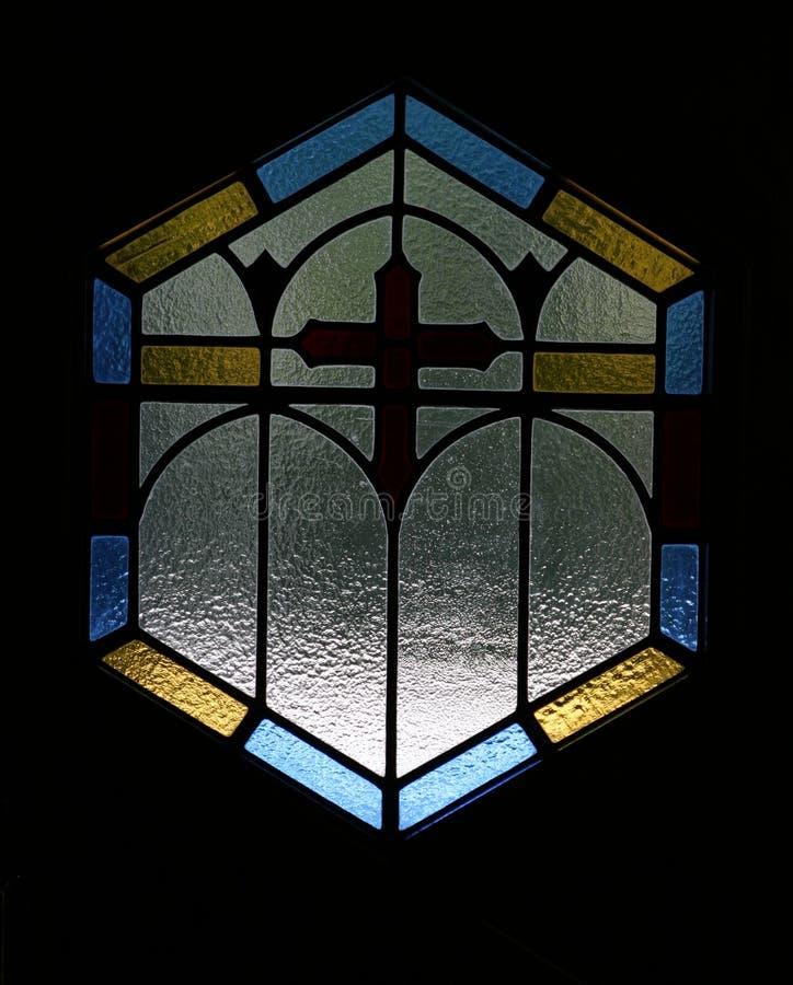 απλό λεκιασμένο παράθυρ&omicron στοκ εικόνες
