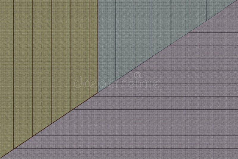 Απλό σχέδιο αρχιτεκτονικής Η έννοια του μινιμαλισμού απεικόνιση αποθεμάτων