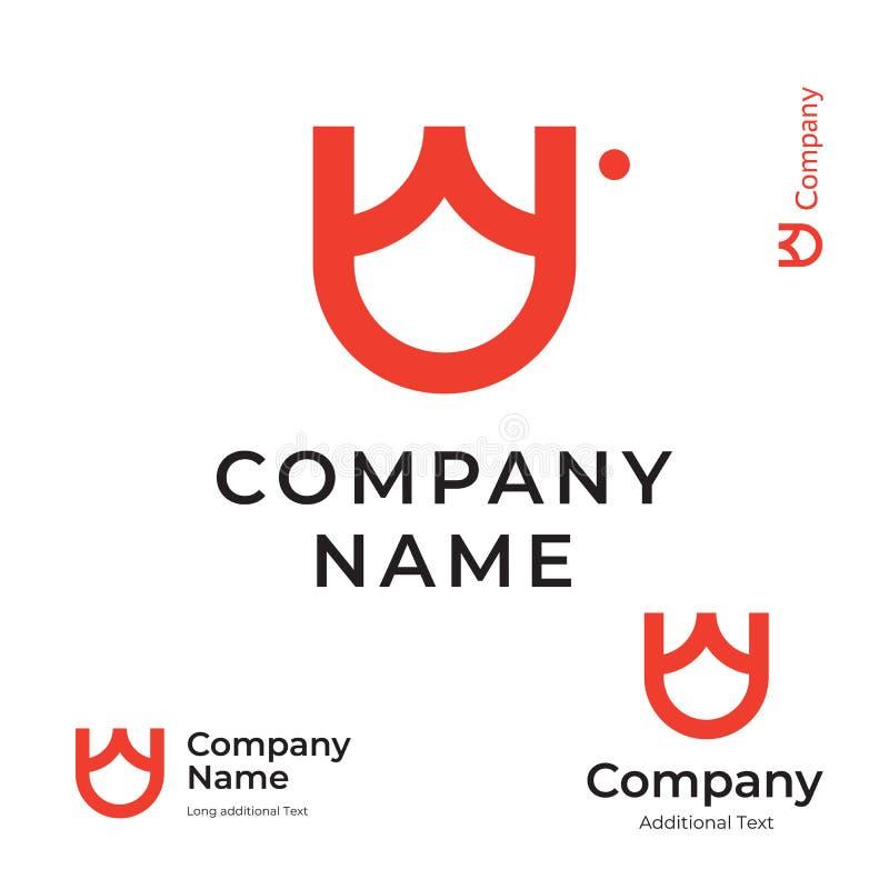 Απλό τουλιπών καθορισμένο πρότυπο έννοιας συμβόλων εικονιδίων εμπορικών σημάτων ταυτότητας λογότυπων όμορφο σύγχρονο διανυσματική απεικόνιση