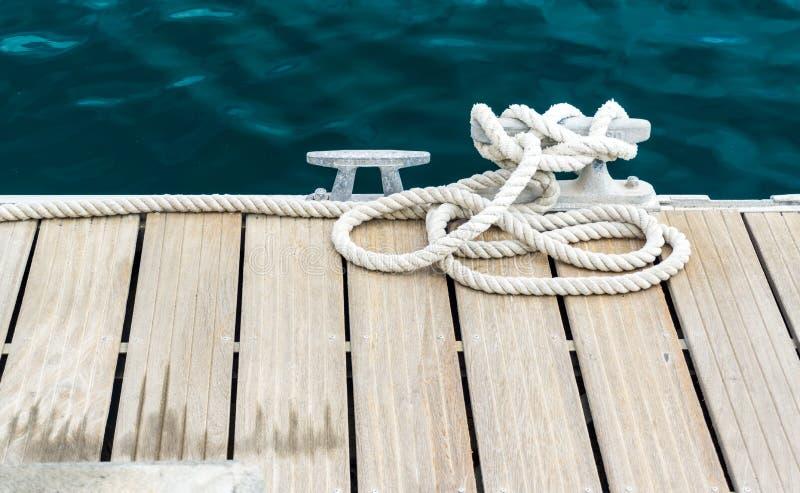 Αποβάθρα στο λιμάνι - οριζόντιο στοκ φωτογραφία με δικαίωμα ελεύθερης χρήσης