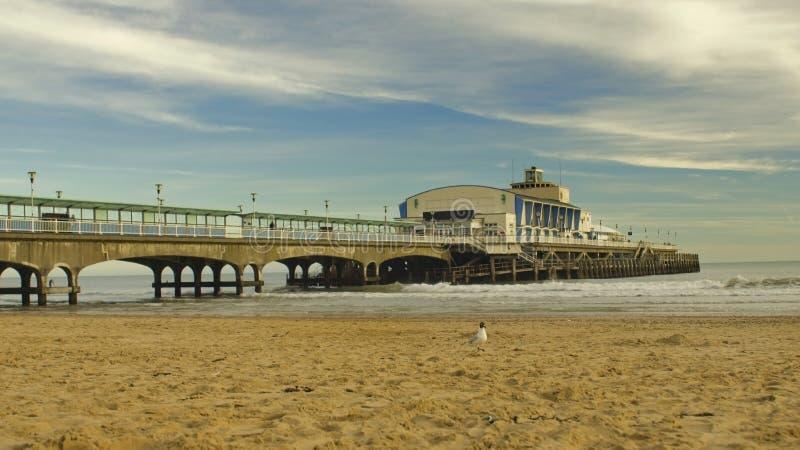 Αποβάθρα του Bournemouth, Αγγλία στοκ εικόνες