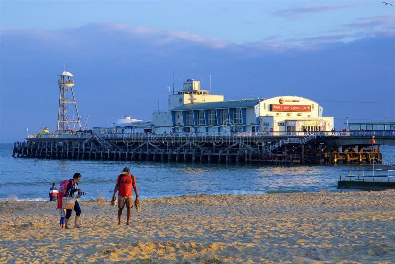 Αποβάθρα του Bournemouth, UK στοκ εικόνες
