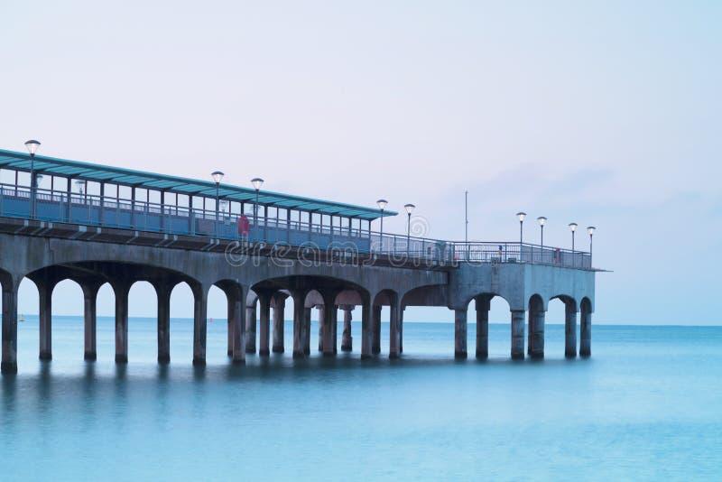 Αποβάθρα Bournemouth Dorset Αγγλία Boscombe στοκ φωτογραφία με δικαίωμα ελεύθερης χρήσης