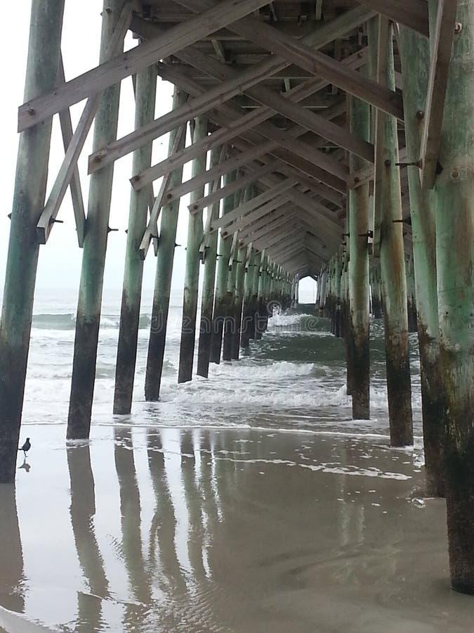 Αποβάθρα Myrtle Beach στοκ φωτογραφίες με δικαίωμα ελεύθερης χρήσης