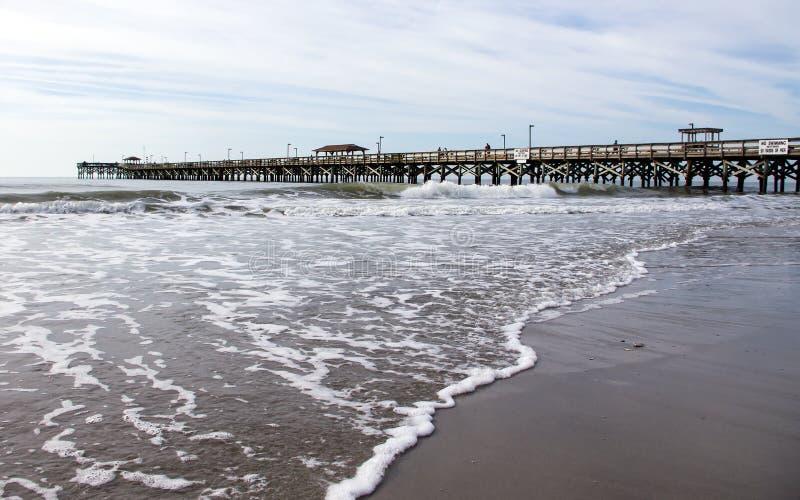 Αποβάθρα Myrtle Beach στοκ φωτογραφίες