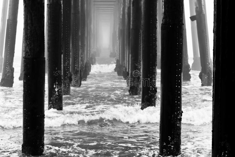 Αποβάθρα Oceanside στοκ εικόνα με δικαίωμα ελεύθερης χρήσης