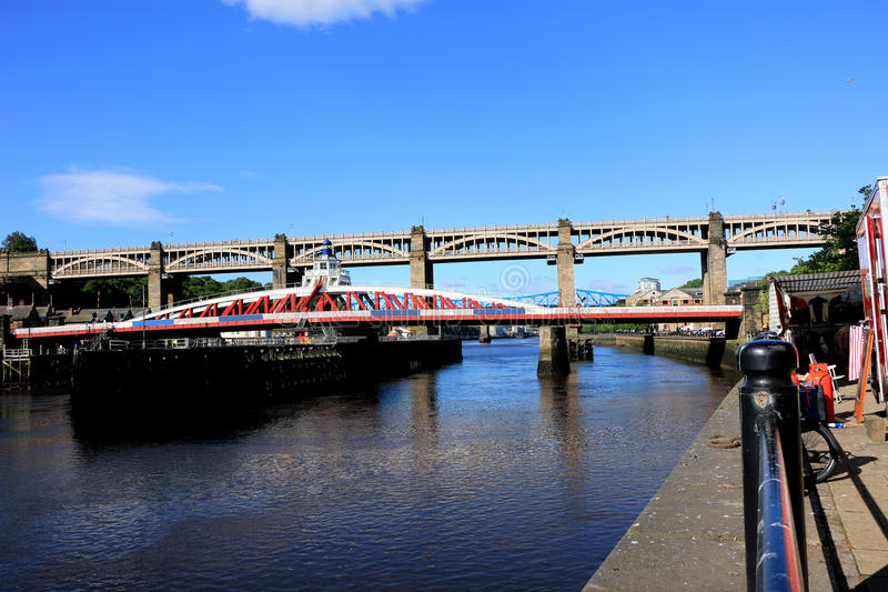 Αποβάθρα Tyneside στοκ φωτογραφία