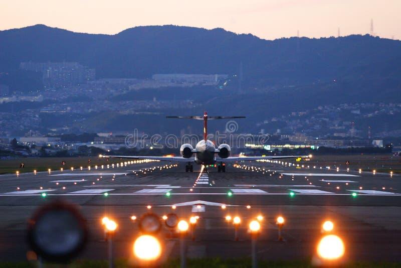 απογείωση αεροσκαφών στοκ εικόνες