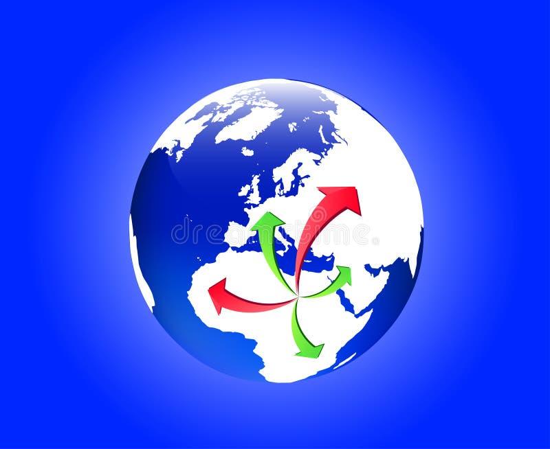 αποδημία Λιβύη ελεύθερη απεικόνιση δικαιώματος