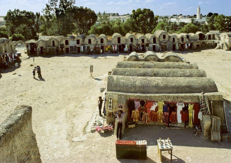 αποθήκες Τυνήσιος στοκ εικόνες με δικαίωμα ελεύθερης χρήσης