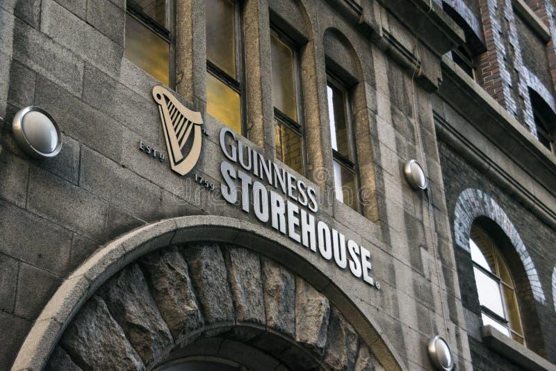 Αποθήκη Δουβλίνο Guiness στοκ εικόνες με δικαίωμα ελεύθερης χρήσης