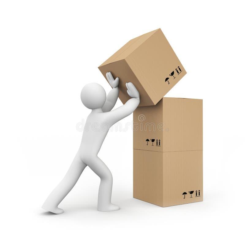 αποθήκη εμπορευμάτων υπη διανυσματική απεικόνιση