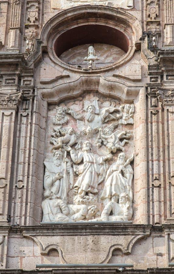 Αποικιακός ναός Μορέλια στοκ εικόνα με δικαίωμα ελεύθερης χρήσης