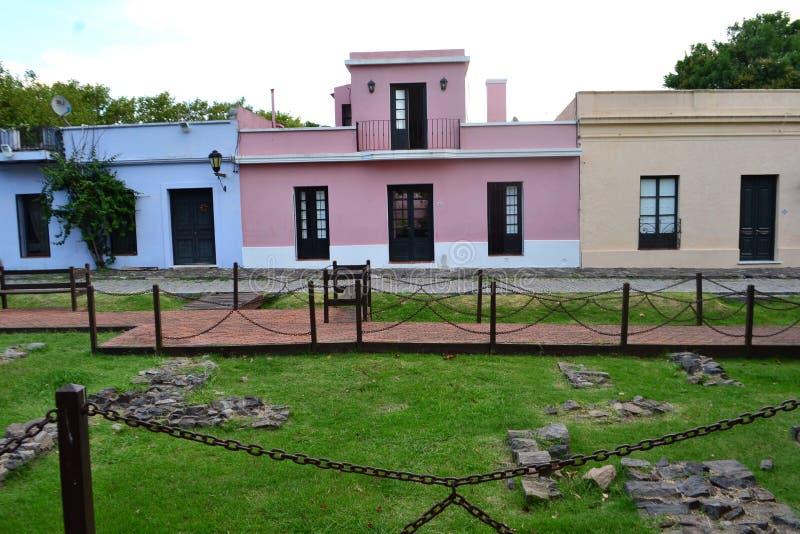 Αποικιακό EN colonia del Σακραμέντο Casa στοκ φωτογραφία