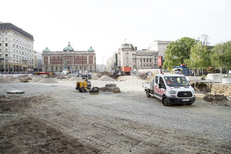 Αποκατάσταση Βελιγραδι'ου στοκ εικόνες