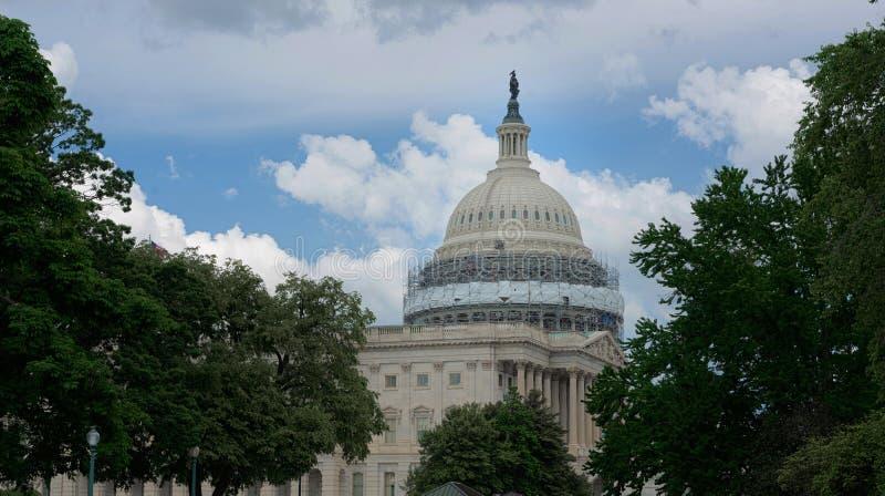 Αποκατάσταση θόλων Capitol, Ηνωμένες Πολιτείες Capitol, Ουάσιγκτον Δ Γ στοκ φωτογραφίες με δικαίωμα ελεύθερης χρήσης
