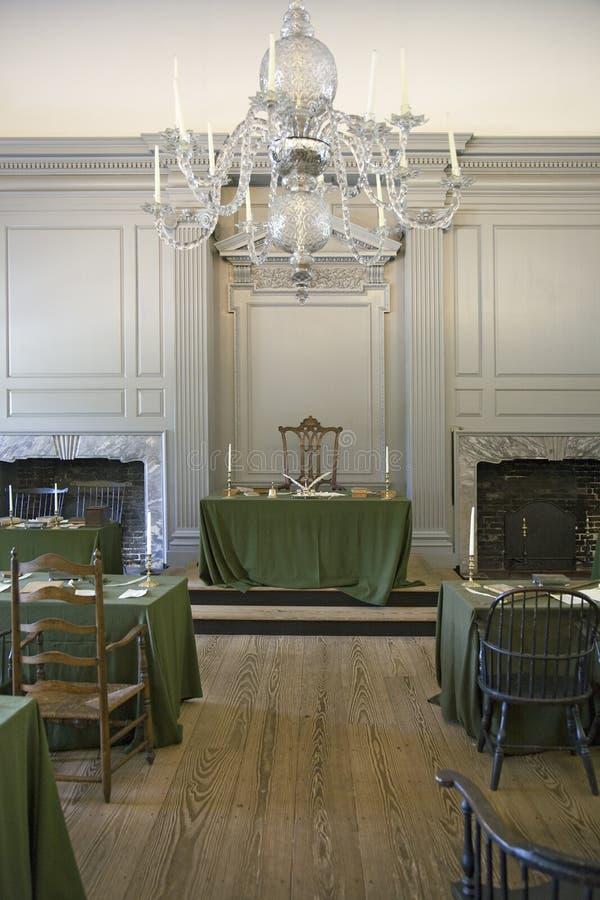 Αποκατεστημένο δωμάτιο συμβολικών γλωσσών στοκ φωτογραφία