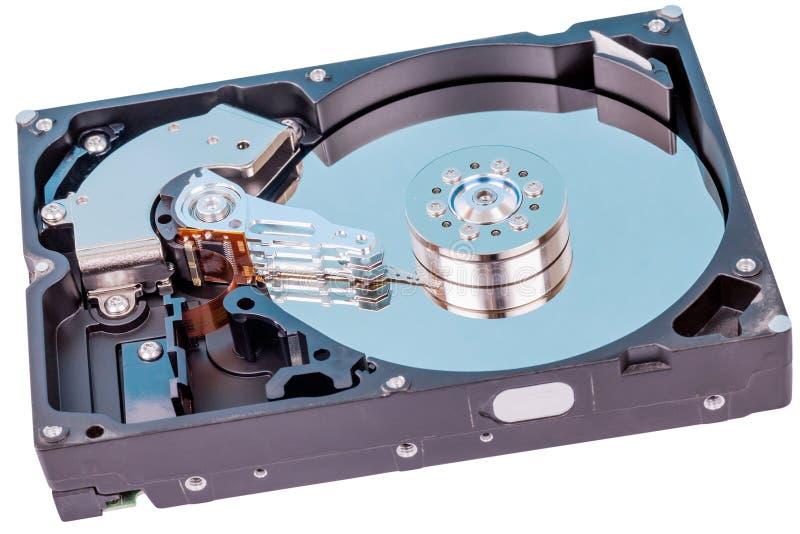 Αποκαλυμμένος αναγνώστης HDD στοκ φωτογραφίες
