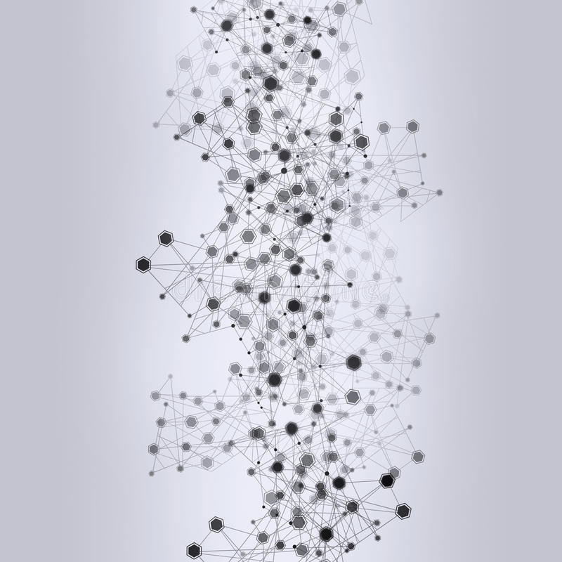 Αποκορεσμένο υπόβαθρο δικτύων διανυσματική απεικόνιση