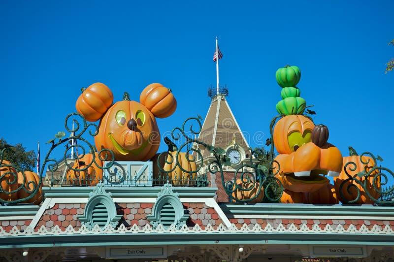 Αποκριές σε Disneyland στοκ φωτογραφία με δικαίωμα ελεύθερης χρήσης