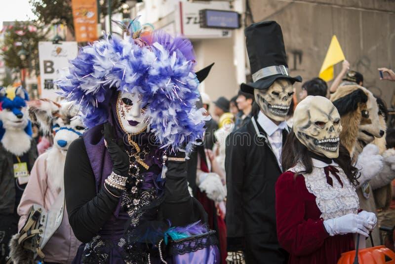 Αποκριές σε Kawasaki Ιαπωνία στοκ φωτογραφίες