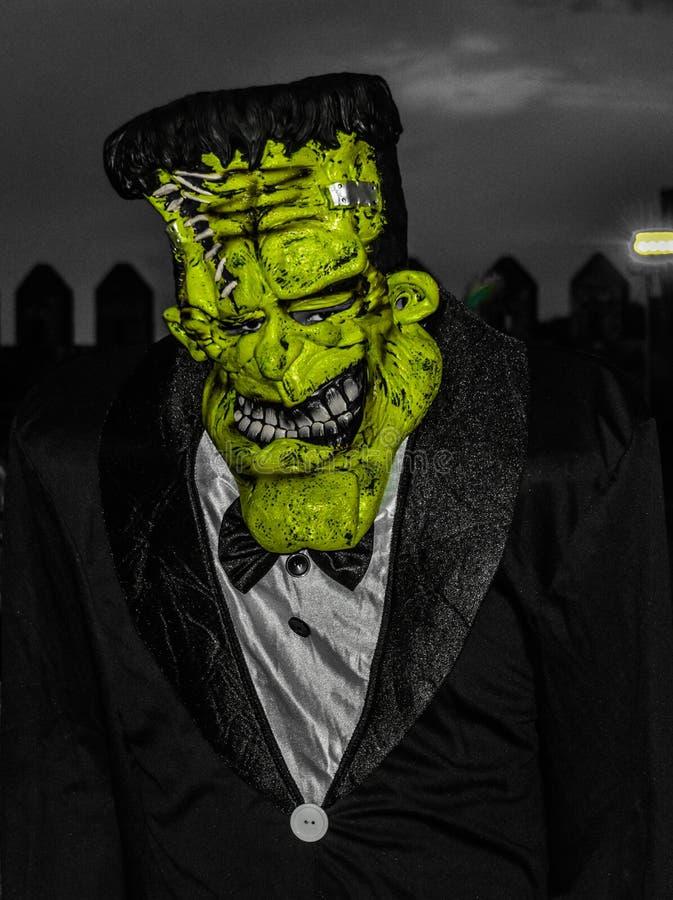 Αποκριές - Frankenstein- Πορτογαλία στοκ εικόνα με δικαίωμα ελεύθερης χρήσης