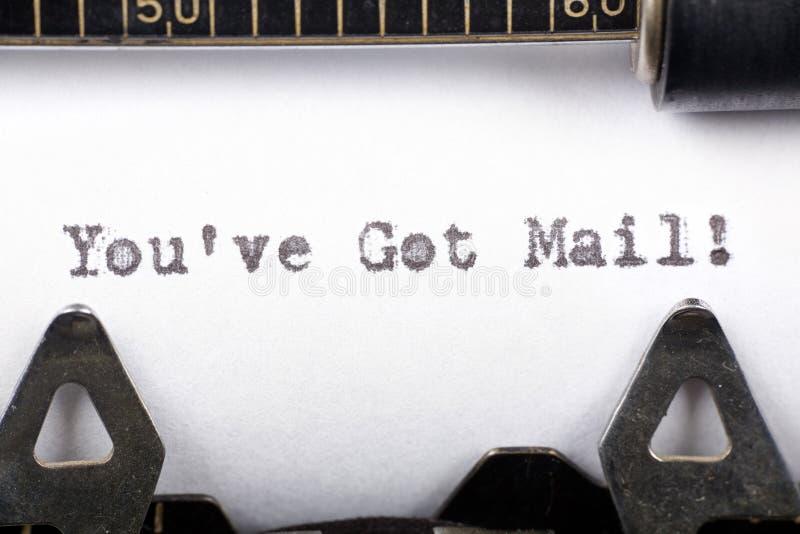 αποκτημένο ταχυδρομείο VE  στοκ φωτογραφία με δικαίωμα ελεύθερης χρήσης