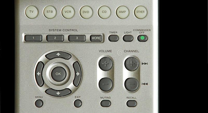 απομακρυσμένη τηλεόραση επιτροπής ελέγχου Στοκ φωτογραφίες με δικαίωμα ελεύθερης χρήσης