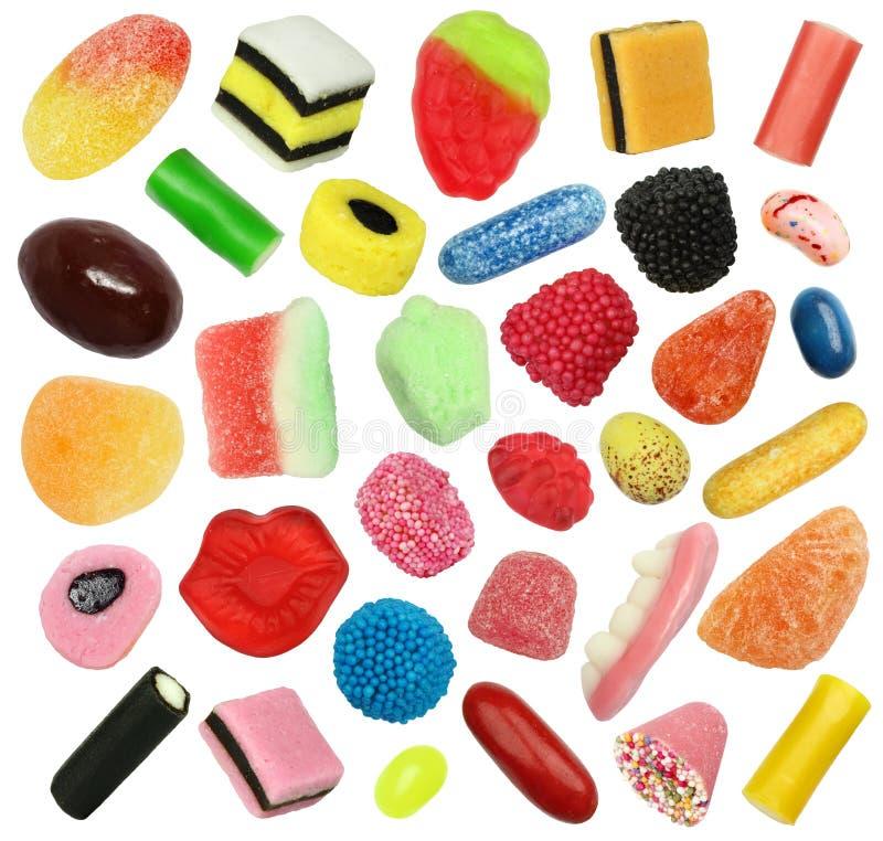 Απομονωμένα γλυκά καραμελών στοκ φωτογραφία με δικαίωμα ελεύθερης χρήσης